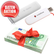 Daten-Aktion Surf-Stick + Bargeld