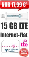 Internet-Flat LTE 15 GB