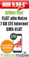 freeFlat 3 GB LTE 9.99