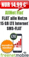 freeFlat 4 GB LTE 13.99
