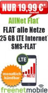 freeFlat 15 GB LTE 16.99
