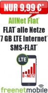 freeFlat 3 GB LTE 9.99 24M