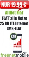 freeFlat 15 GB LTE 16.99 24M