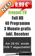 freenet TV mit Receiver