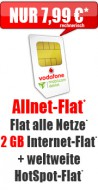 Allnet-Flat + 2 GB 7,99 Aktion