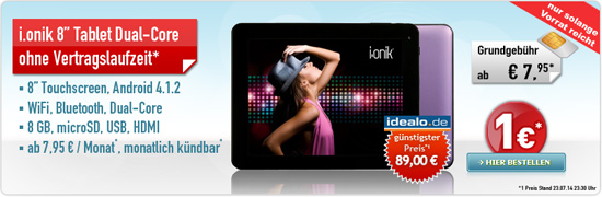 ga3207 01 [Top] i.onik Tablet PC für maximal 36,85 Euro