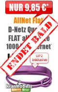 AllNet Flat 1 GB 9,85 + UP2