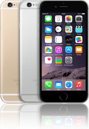 Apple iPhone 6 128GB mit Telekom real Allnet Flat 4 GB +10 Vertrag! bestellen