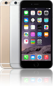 Apple iPhone 6 Plus 16GB mit O2 Free L +10 Vertrag! bestellen