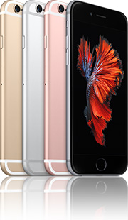 Apple iPhone 6s 128GB mit Telekom real Allnet Flat 4 GB +10 Vertrag! bestellen