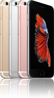 Apple iPhone 6s Plus 16GB mit O2 Free M +10 Duo Vertrag! bestellen