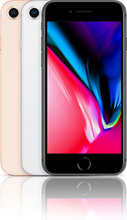 Apple iPhone 8 64GB mit Vodafone comfort Allnet Flat 2 GB Duo Vertrag! bestellen