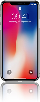Apple iPhone X 64GB mit Telekom real Allnet Flat 4 GB +10 Duo Vertrag! bestellen