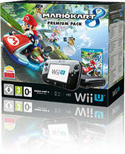 Nintendo Wii U Premium Pack 32GB mit Vodafone Flat light 100 Aktion +5 Vertrag! bestellen