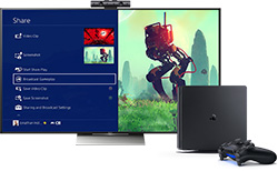 Sony PlayStation 4 Slim vernetzt