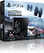 Sony PlayStation 4 Star Wars Battlefront Limited Edition mit O2 Free M +10 Vertrag! bestellen