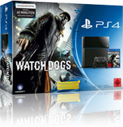 Sony PlayStation 4 Watch_Dogs mit O2 Free M +5 Vertrag! bestellen
