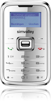 simvalley RX-180 Mini-Handy mit O2 Power Spar Duo Vertrag! bestellen