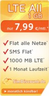 SimDiscount LTE All 1 GB
