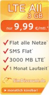 SimDiscount LTE All 3 GB