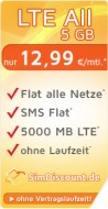 SimDiscount LTE All 5 GB