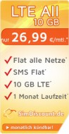 SimDiscount LTE All 10 GB