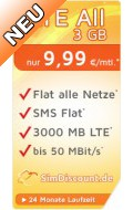 SimDiscount LTE All 2 GB LZ