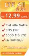 SimDiscount LTE All 5 GB LZ