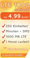 SimDiscount LTE 1000 national