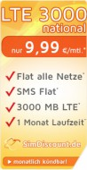 SimDiscount LTE 3000 national