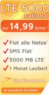SimDiscount LTE 5000 national